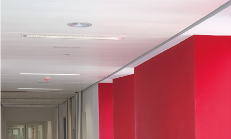 Sas 205 Metal Ceiling Potter Interior Systems