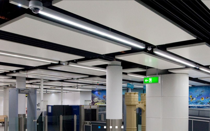 Sas 600 Metal Ceiling Potter Interior Systems