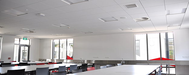Semi Concealed Ceiling System In Aut South Modular
