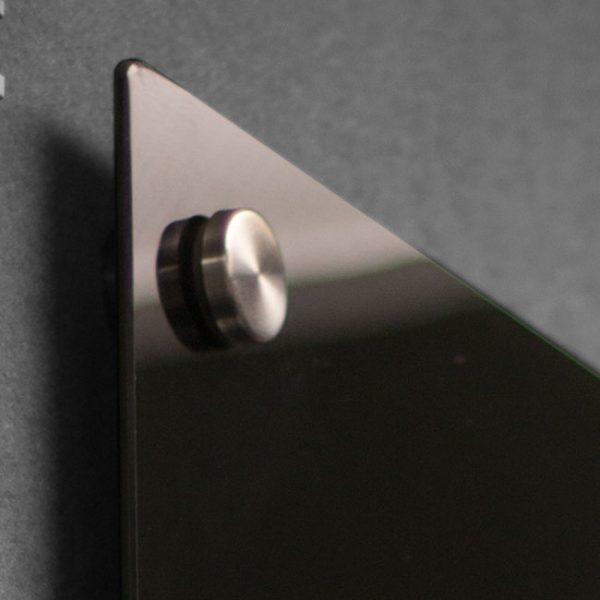Glassboard - Black 1200x600mm