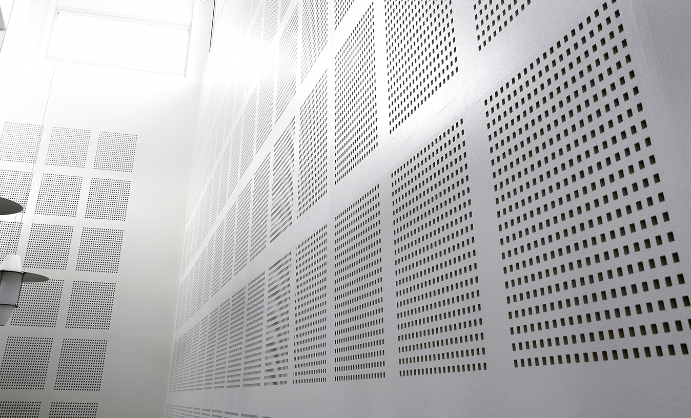 Perforated Plasterboard Potter Interior Systems