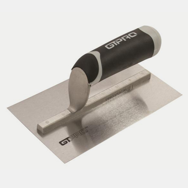 GTPRO Trowel 200mm C/Steel Soft Grip