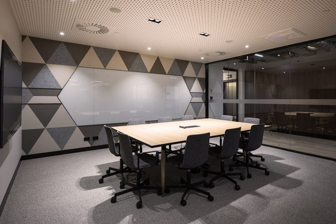 Rigitone Astral Perforated Plasterboard Potter Interior