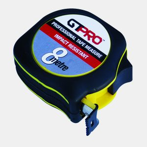 GTPRO Tape Measure 8m Impact Proof