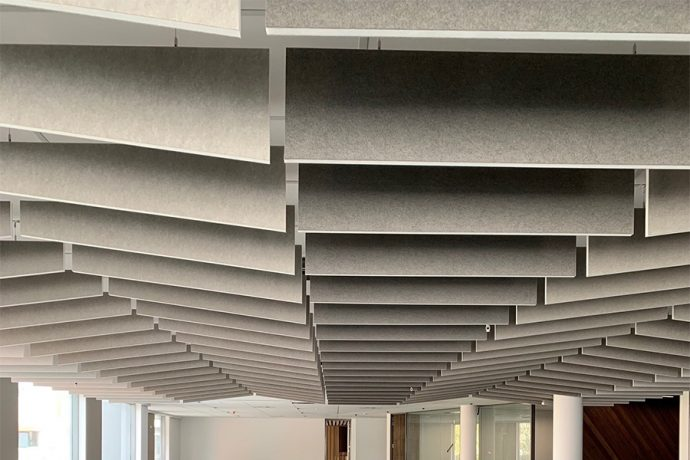 Sound-absorbing-free-hanging-ceiling-baffle