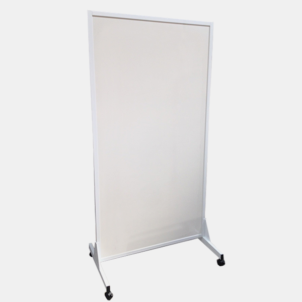Mobile whiteboard - slim