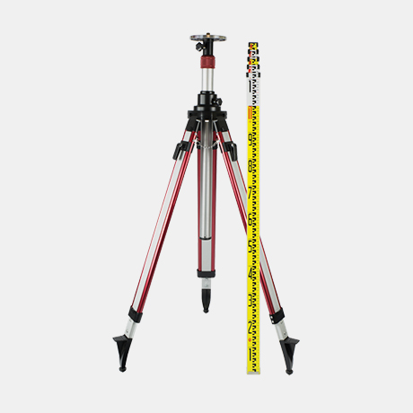 Spot-On POWERLINE Elevating Tripod + Staff Combo