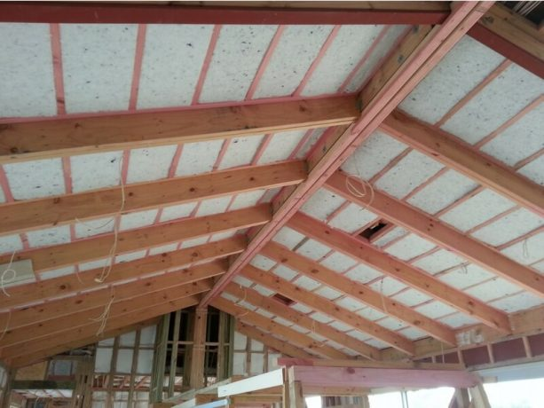 Mammoth Skillion Roof Insulation Potter Interior Systems