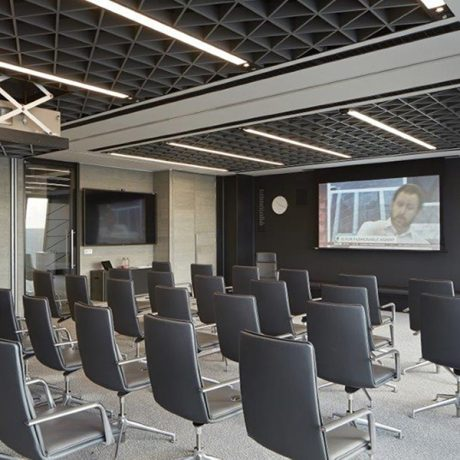 Sas 810 Tricell Metal Ceiling Potter Interior Systems